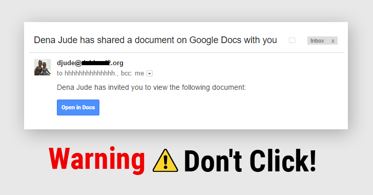 Don't Click That Weird Google Docs Link You Just Got