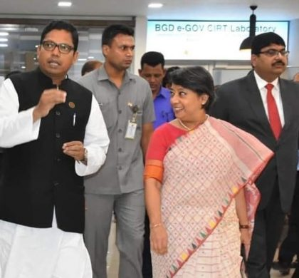 High Commissioner of India, Dhaka visits BGD e-GOV CIRT Operations Center