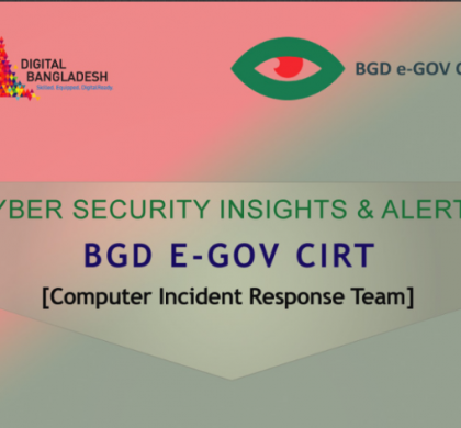 Monthly Magazine of BGD e-GOV CIRT – August 2020