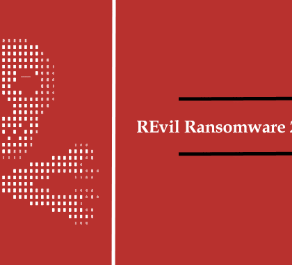 Indicator of compromise (IoC) of REvil ransomware