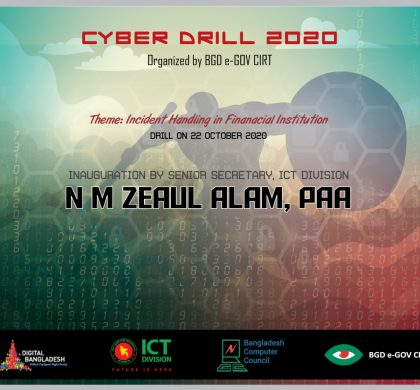 BGD e-GOV CIRT has successfully organized country's First Cyber Drill 2020